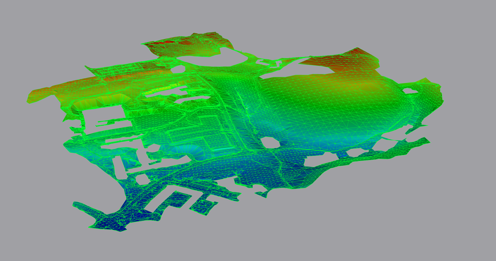 3D Topographic Survey, Exeter, Devon