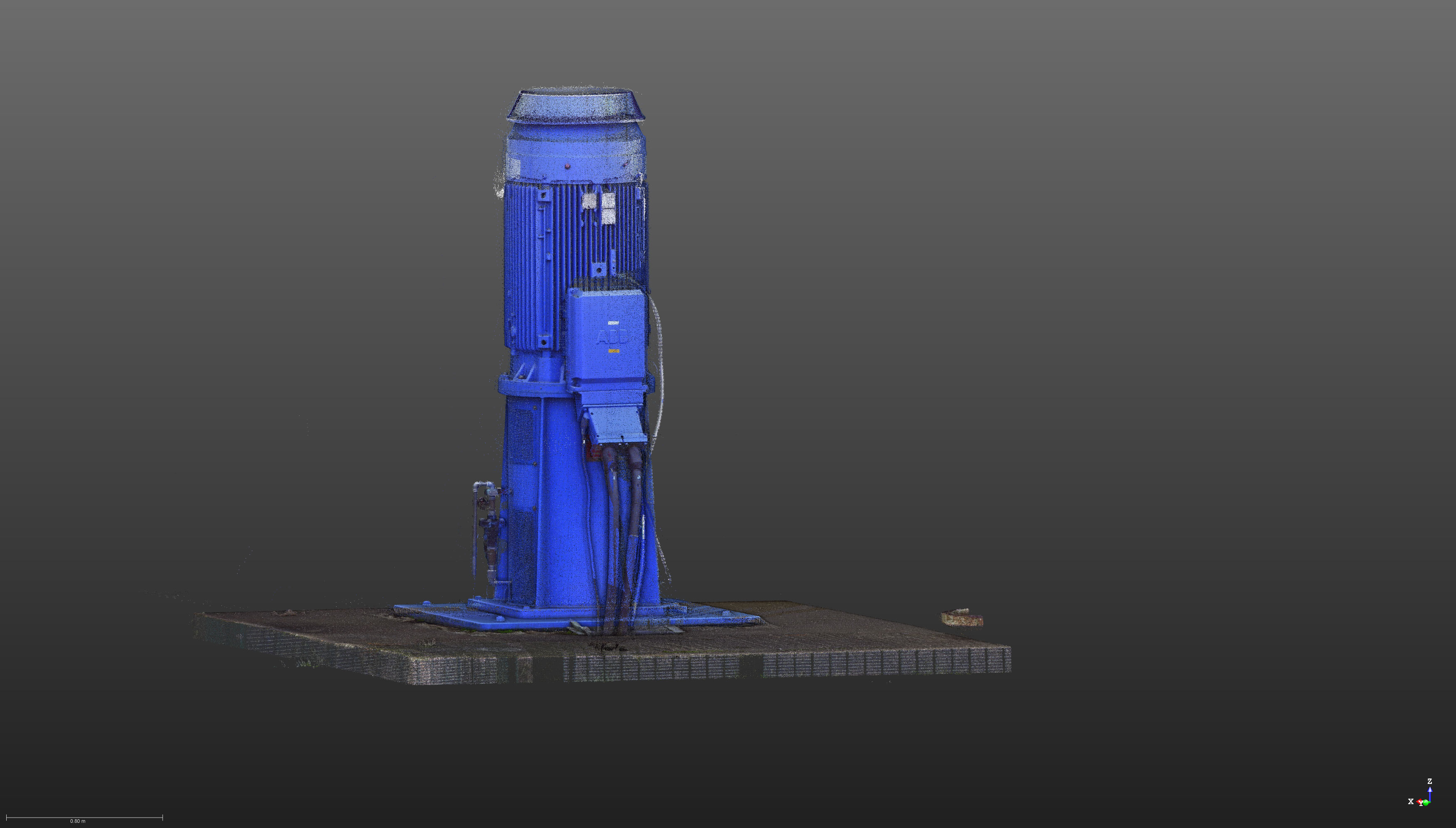 Laser Scan of Pump | Laser Scanning