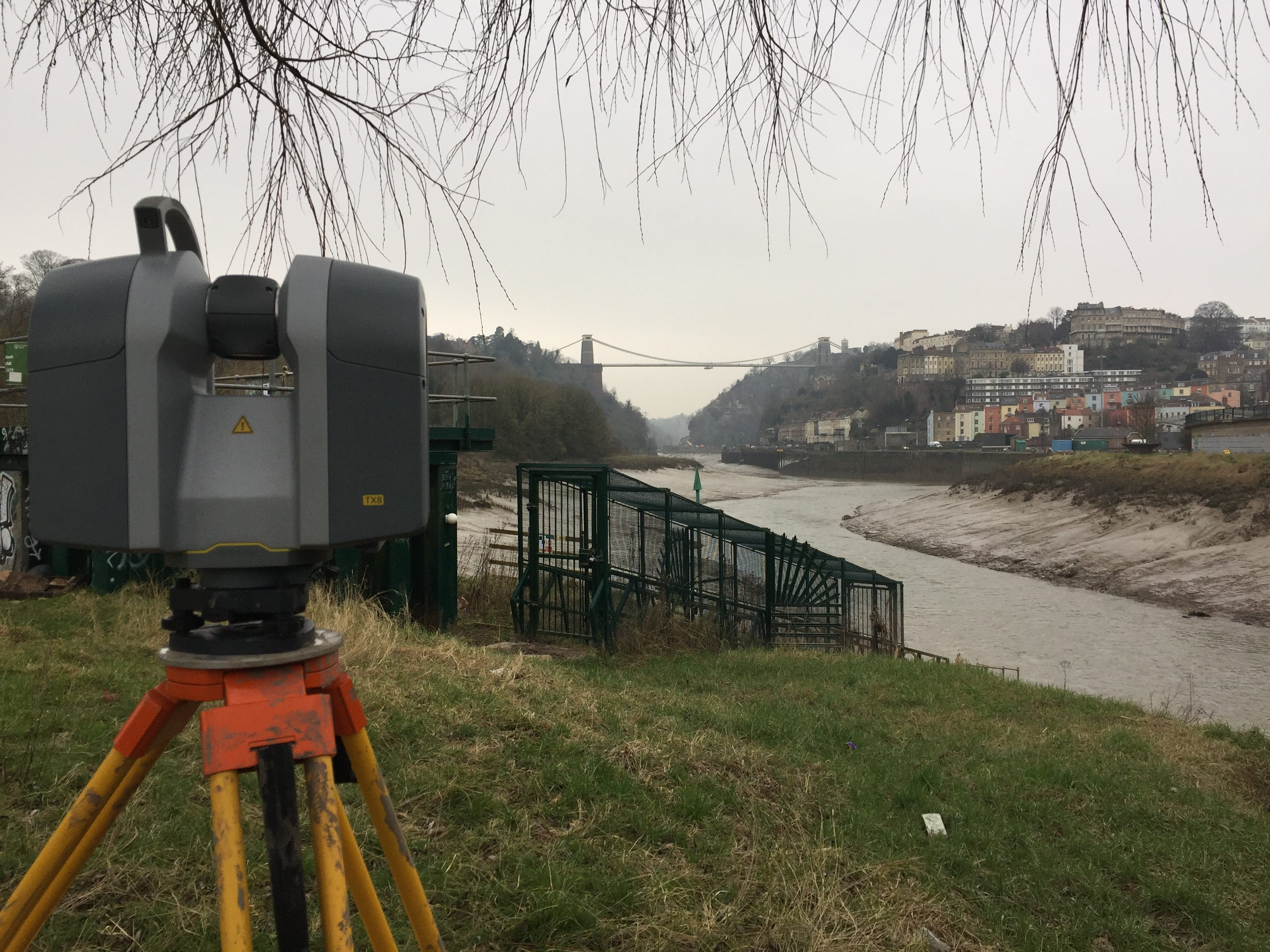 Laser Scanning with the Trimble TX8, Clifton, Bristol