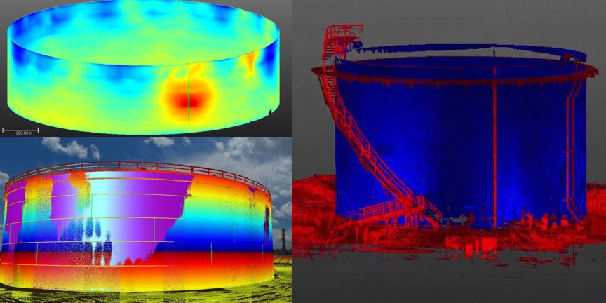 Fuel Tank Inspection, Deformation Analysis Survey